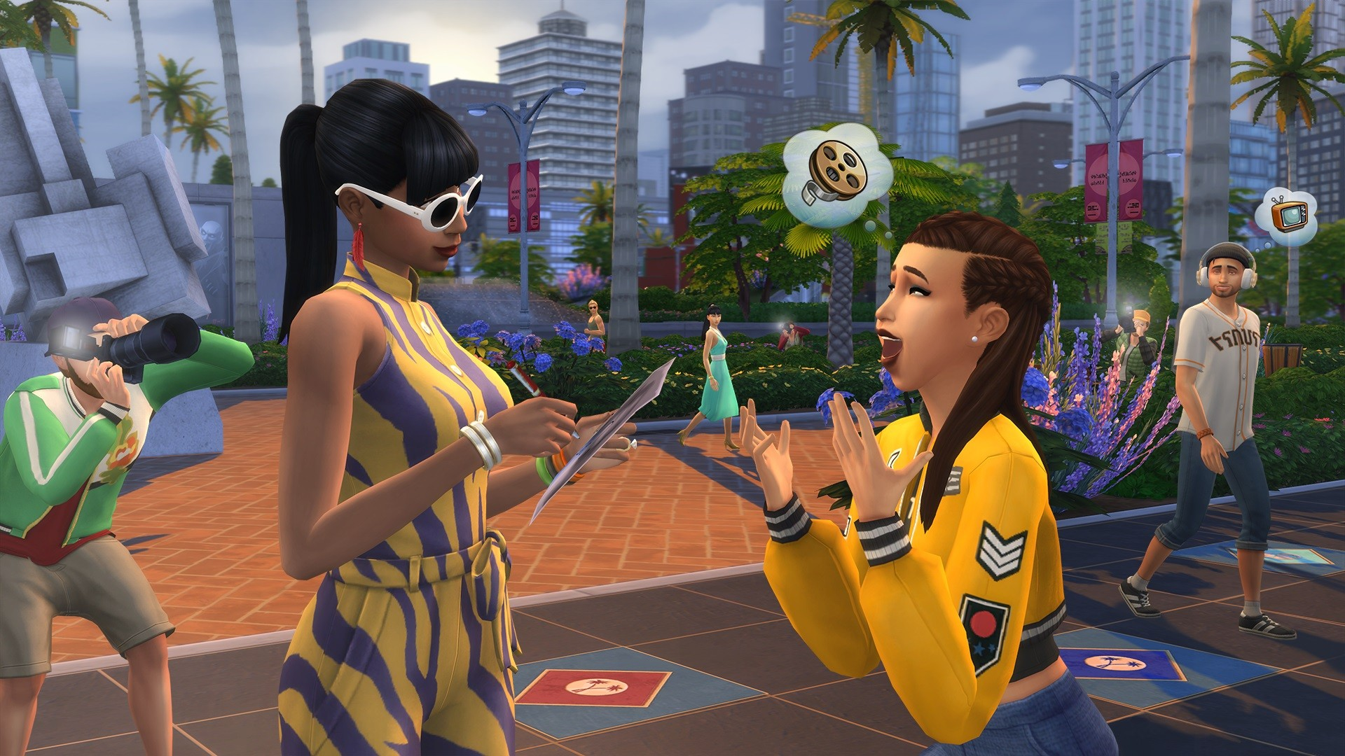 the sims 4 get famous for pc mac origin
