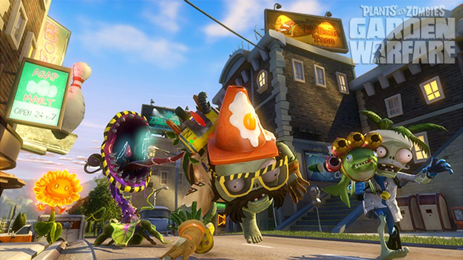 download plant vs zombie garden warfare free