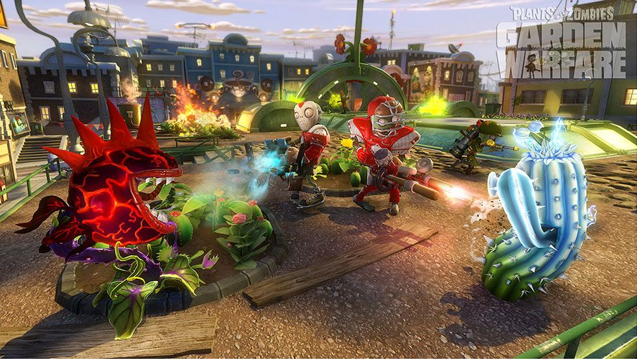 Wonderful Plants Vs. Zombies™ Garden Warfare For PC | Origin Awesome Design