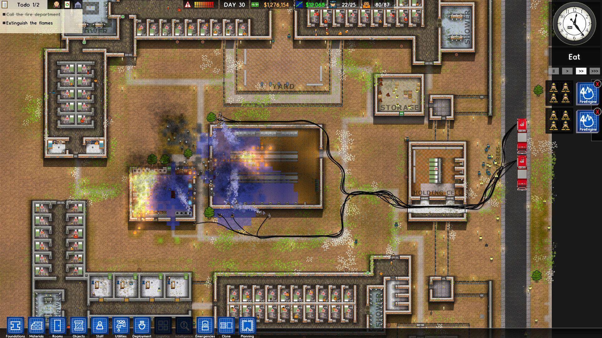 prison architect spielautomat