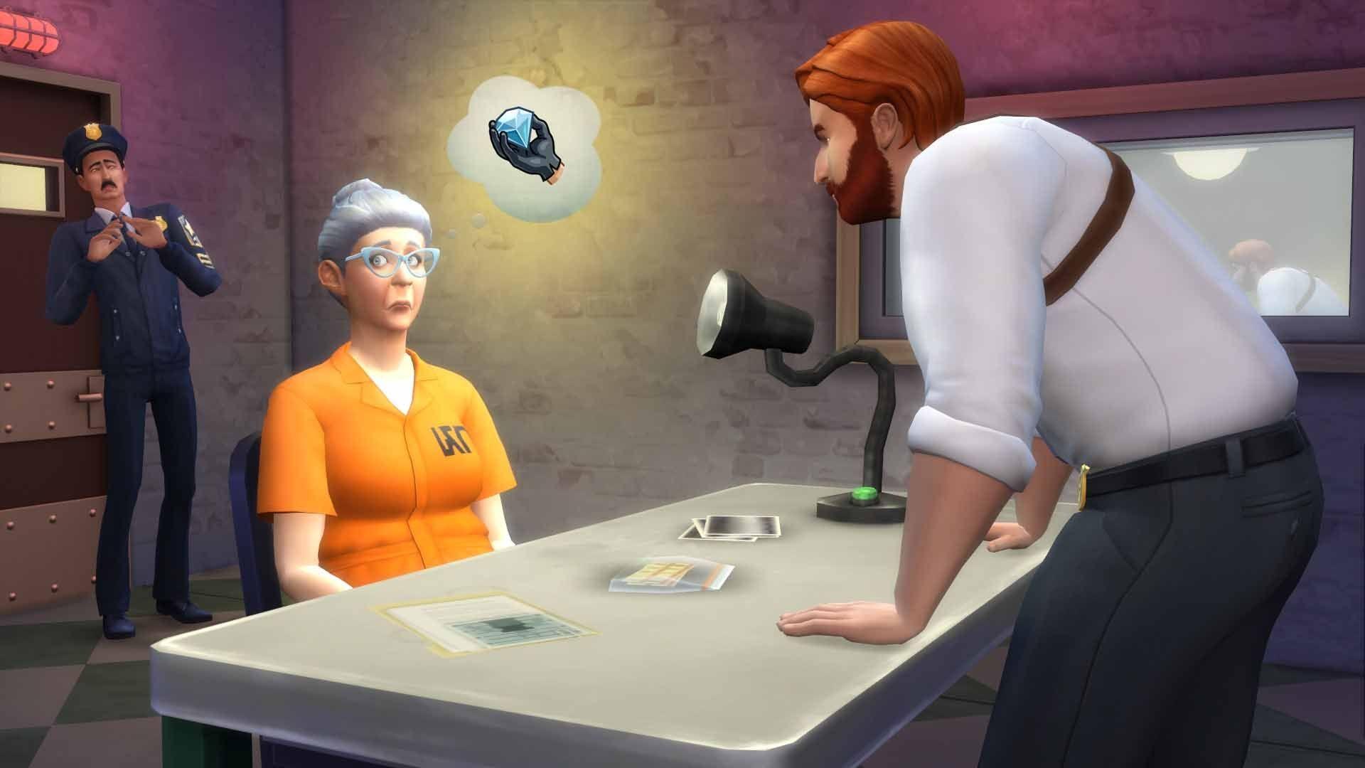 Ser detective en Los Sims 4