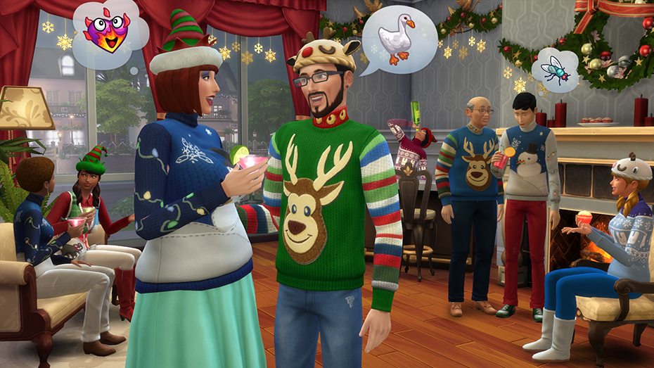 The Sims™ 4 Holiday Celebration Pack for PC/Mac   Origin