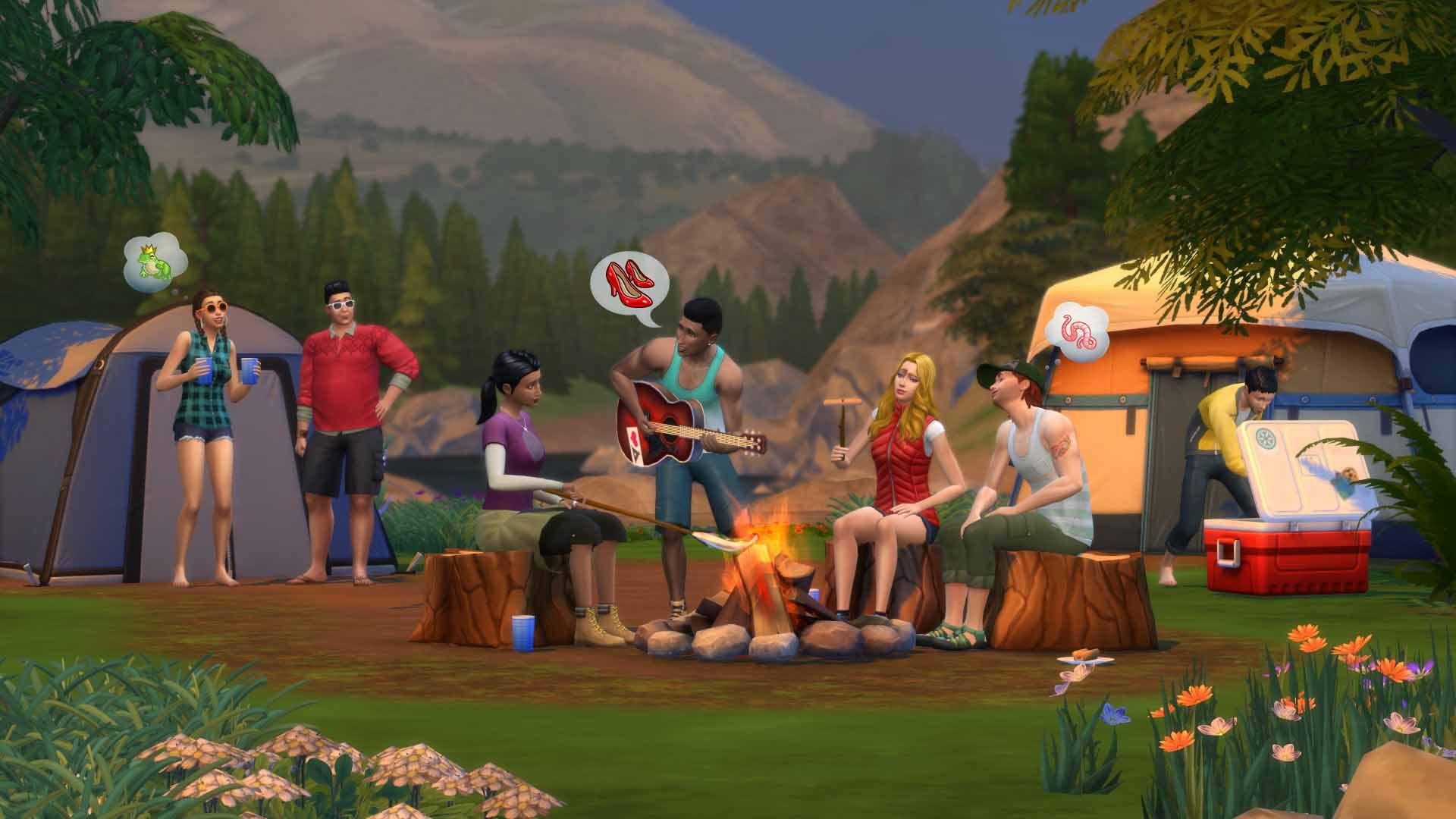 Los Sims 4 ¡De Acampada!, disponible el 4 de diciembre en consolas