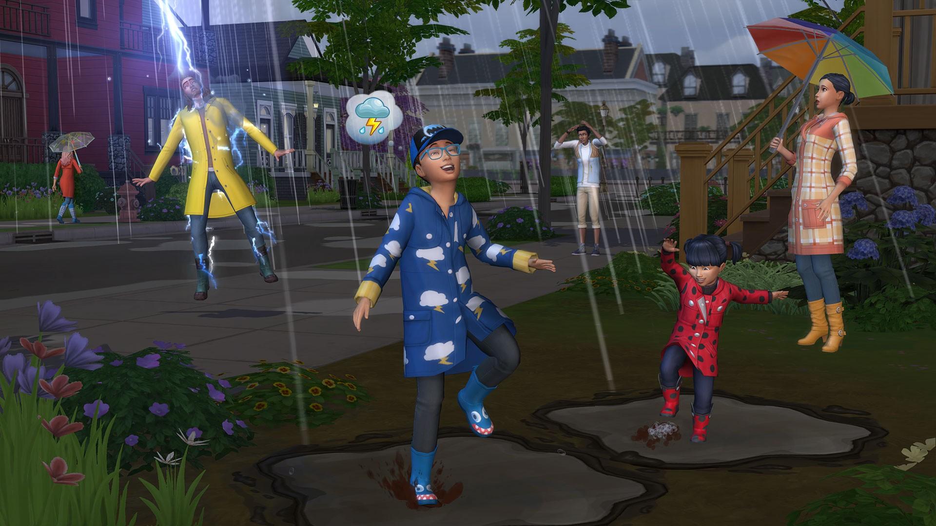 Resultado de imagen para The Sims 4 Seasons