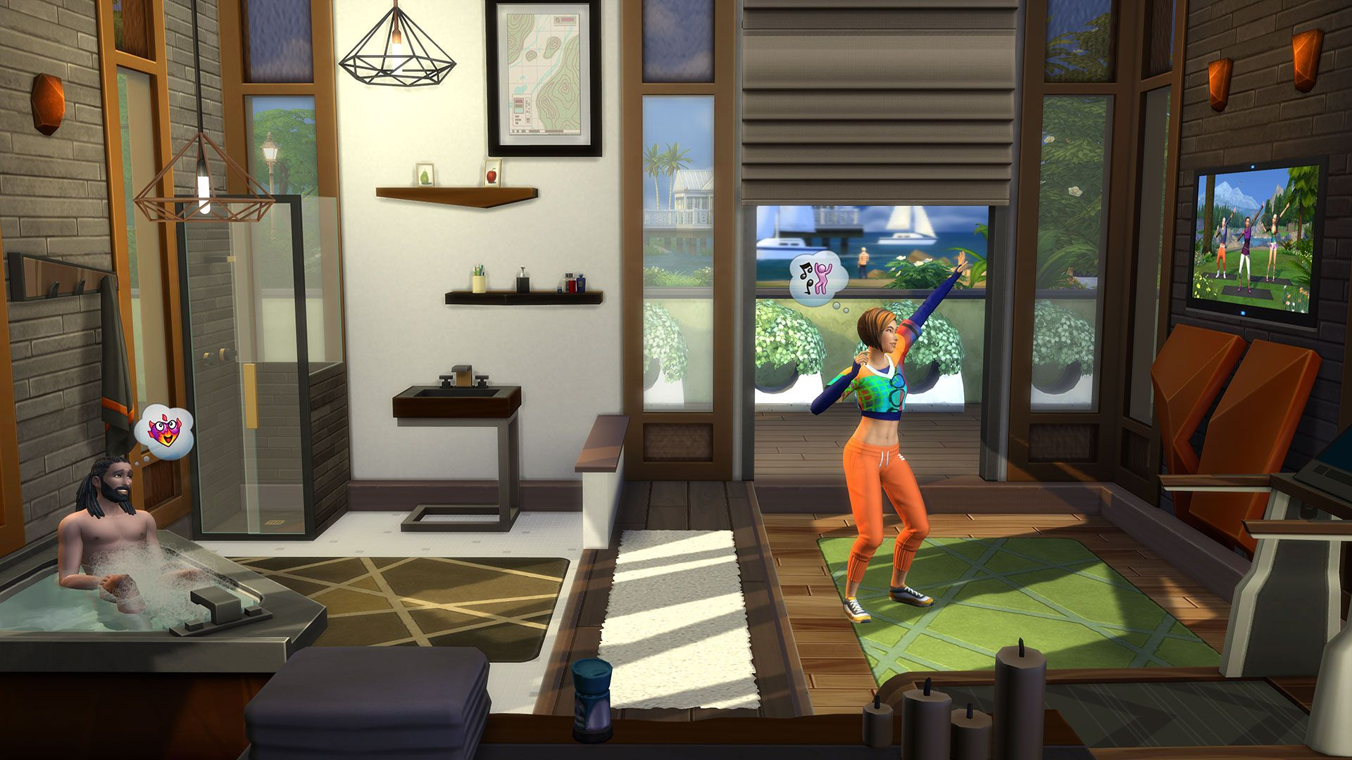 Die Sims™ 4 Fitness-Accessoires