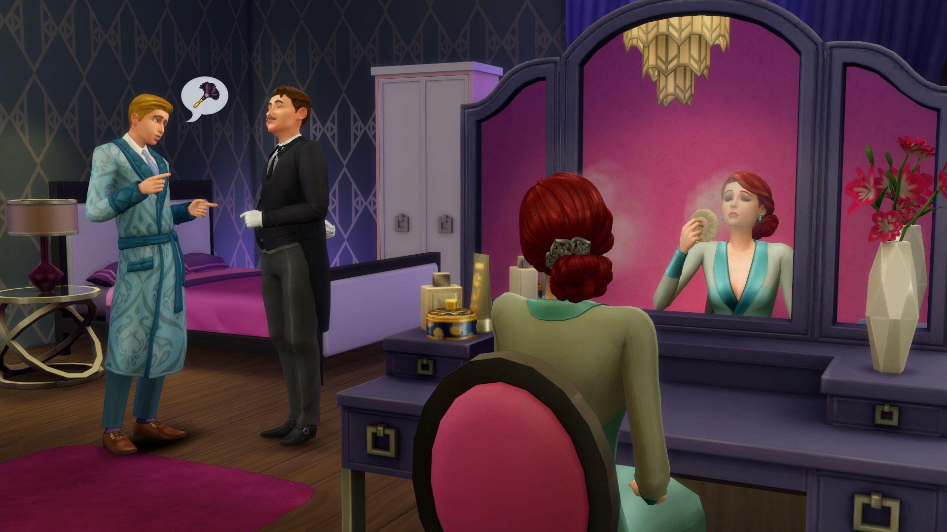 Die Sims 4 Vintage Glamour Accessoires Für Pcmac Origin