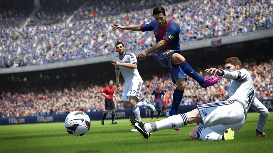 Скриншот игры [Аккаунт] FIFA 14